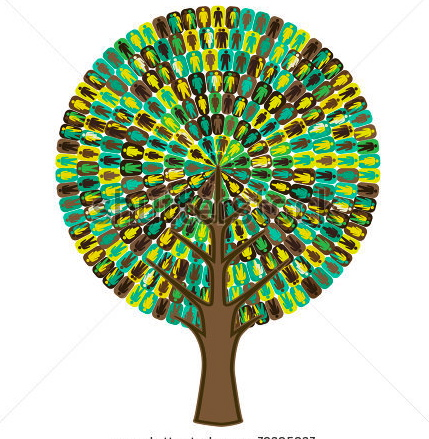 stock-vector-tree-of-sociology-people-icon-76395937
